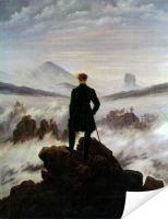 Плакат Странник над морем тумана (The Wanderer above the Sea of ​​Fog)