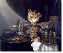 Картина Натюрморт с кубком Наутилус (Still Life with a Nautilus Cup)