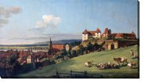 Картина Вид Пирна с Зонненштайне (View of Pirna from the Sonnenstein Castle)