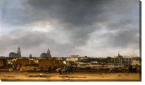 Картина Вид Делфта после взрыва 1654 года (A View of Delft after the Explosion of 1654)