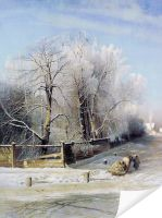 Плакат Зимний пейзаж (Winter Landscape)