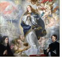Постер Непорочное зачатие (The Immaculate Conception with Two Donors)