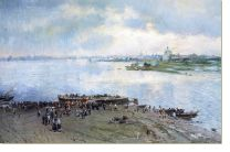 Постер Перевоз на Волге (Transportation of the Volga)