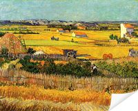 Плакат Урожай в Ла-Кро (Harvest at La Crau)