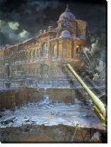 Картина Блокада Ленинграда (The Siege of Leningrad)