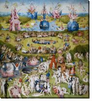 Картина Сад земных наслаждений (The Garden of Earthly Delights)
