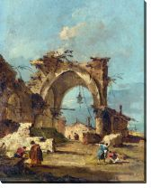 Картина Разрушенная арка (A Caprice with a Ruined Arch)
