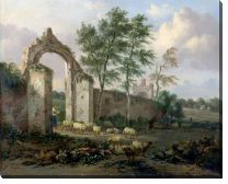 Картина Пейзаж с аркой (A Landscape with a Ruined Archway)