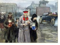 Постер На улицах Петрограда (On the streets of Petrograd)