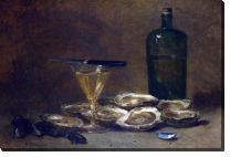 Картина Натюрморт с устрицами (Still Life with Oysters)