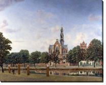 Картина Вид на Вестеркерк, Амстердам (View of the Westerkerk, Amsterdam)