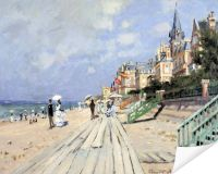 Плакат Пляж в Трувилле (Beach at Trouville)