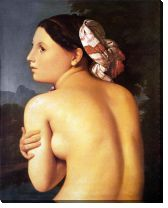 Картина Купальщица (Half-Figure of a Bather)