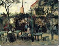 Картина Терраса кафе на Монмартре ( Terrace of a Cafe on Montmartre)