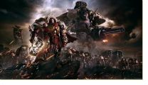 Постер Warhammer 40000 dawn of war