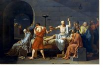 Постер Смерть Сократа (The Death of Socrates)