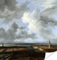 Плакат Панорамный вид Амстердама (A Panoramic View of Amsterdam)