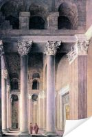 Плакат Портик в Риме (Portico of the Pantheon, Rome)