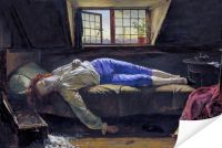 Плакат Смерть Чаттертона (Death of Chatterton)