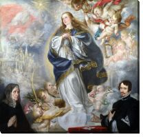 Картина Непорочное зачатие (The Immaculate Conception with Two Donors)