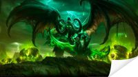 Плакат World of warcraft legion
