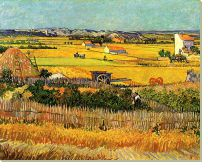 Постер Урожай в Ла-Кро (Harvest at La Crau)